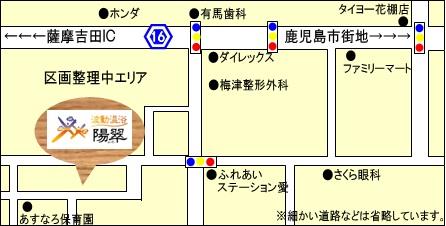 当院の地図